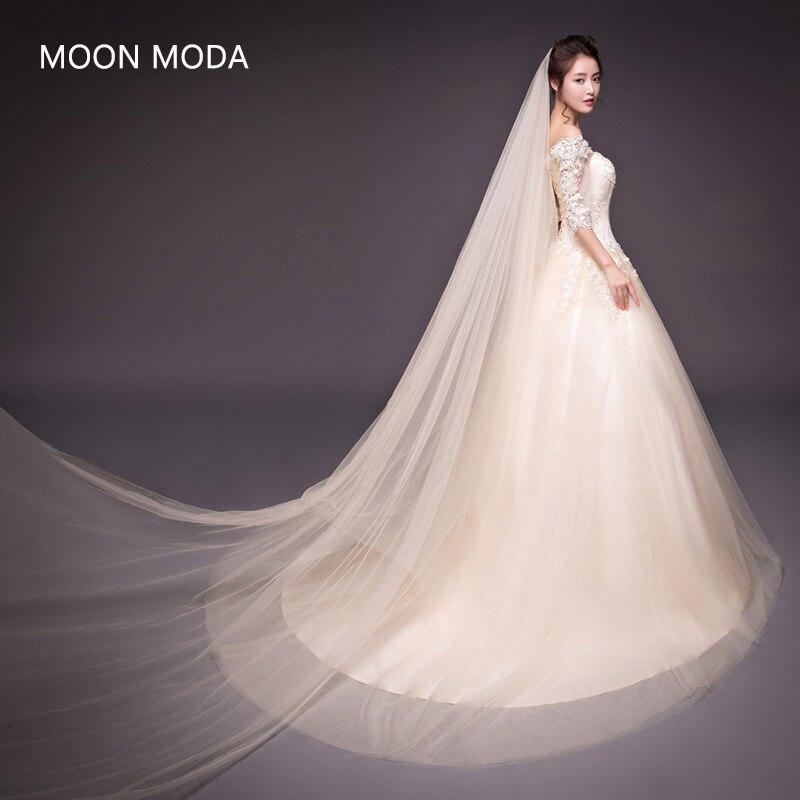 renda vintaj perkahwinan pakaian foto sebenar separuh lengan pengantin gowm mudah strapless kalung 2018 dengan ekor panjang kristal berkualiti tinggi