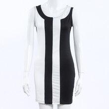 Plus Size 3XL Sleeveless A-Line Dress Women 2017 New O-Neck Patchwork Short Mini Dress Vestidos Beach Casual Summer Dress Women
