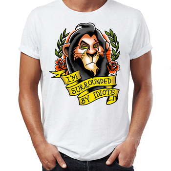 Number 1 Lion Uncle Scar T Shirt5