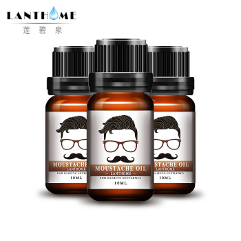 3pcs Lanthome Shape Beard Grooming Moustache Oil Beard Products Beard Oil And Conditioner Healthy Moisturizing Styling Smoothing