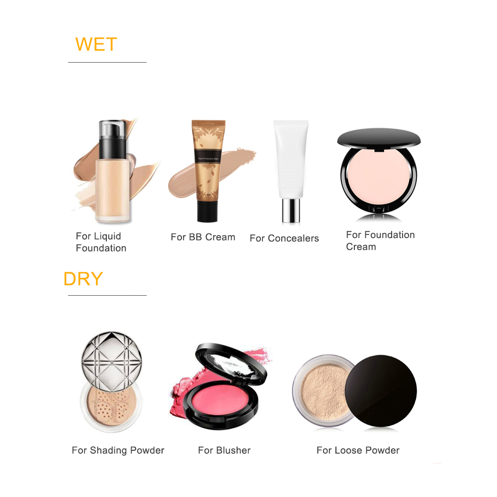 Soft Hydrophilic Makeup Sponge BB Cream Beauty Egg Wholesale Puff Wet Dry Dual Use Face Foundation  Gourd Cosmetic Bulk