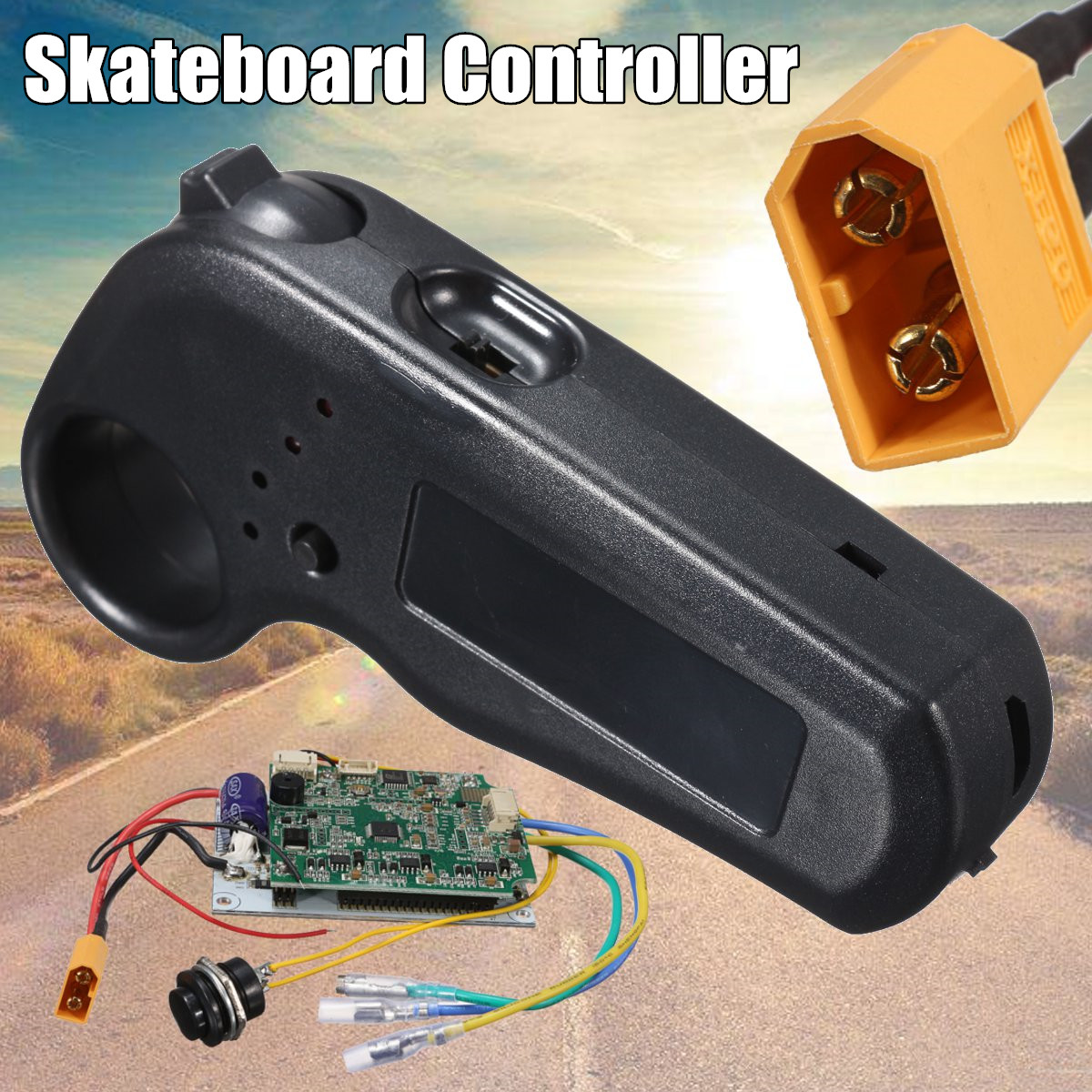 Mini contrôleur de planche à roulettes Longboard électrique contrôleur à distance à moteur unique ESC substitut pour planche à roulettes électrique Longboard