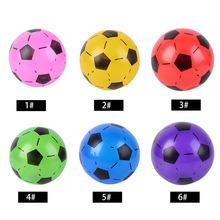 22cm nadmuchiwana gumowa piłka dzieci piłka nożna piłki nożne dla dzieci szkolenia elastyczne zabawki piłkarskie prezenty dla dzieci pelotas de goma tanie tanio Rubber Ball Kid Gift 2-4 lat 5-7 lat 8-11 lat Unisex Piłka gumowa Nadmuchiwane Inflatable Balls