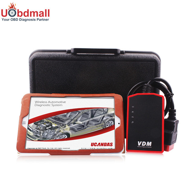 VDM UCANDAS V3.81 Software Installed on Tablet PC Full System Support WIFI Multi Language And Multi Vehicles Car Diagnostic Tool