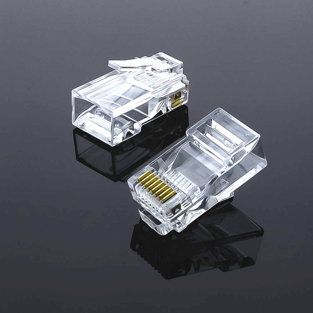 20/50/100 stks CAT5 CAT5E RJ45 Connector Cat6 Modulaire - Computer kabels en connectoren - Foto 2