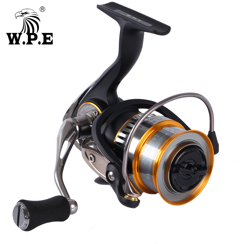 W P E HYT01 35 Light Weight Carbon Spinning Fishing Reel with 10 1 Ball Bearings