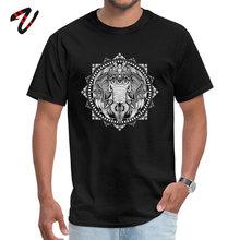 Party Elephant Medallion T-Shirt for Men Fashion April FOOL DAY Crewneck Photographer Fabric Javascript Top T-shirts