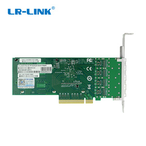 Image 4 - LR LINK 9804BF 4SFP+ quad port 10gb ethernet adapter PCI Express fiber optic network card nic INTEL XL710 Compatible XXV710 DA1
