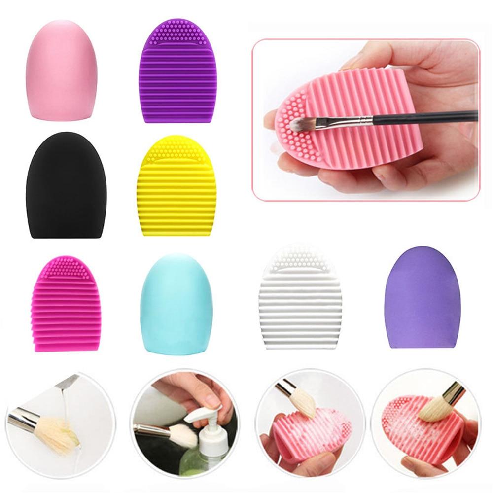 1шт кисть для чистки силиконовые инструменты для мытья макияжа щетки для чистки щетка для чистки скраббер доска косметический инструмент косметический инструмент для чистки кистей