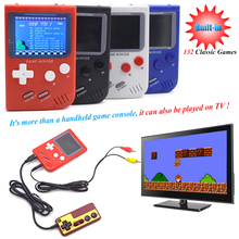 Retro Game Console Portable Mini TV FC Handheld Game Players Built-in132 Classsic Game for GBA Classic Games Best Gift for Kids