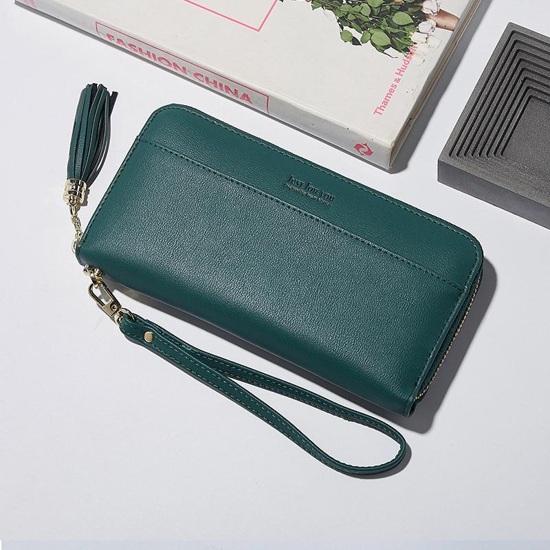Mode tofs kvinnor plånbok kvinnlig dragkedja handväska för tjejer - Plånböcker