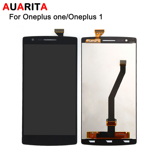 100% new 5pcs/lot LCD For Oneplus one 1+ 1 A0001 LCD Display and Touch Screen Digitizer Full Assembly perfect repair part