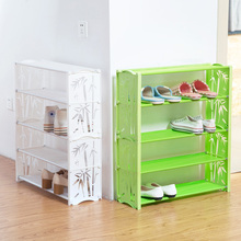 Multi-layer Shoe Rack Multifunctional Simple Combination Storage Cabinet Economical Assembly Shelf