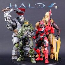 Figurine de maître de Halo vert, guerrier spartien, Halo à licou, officier de chef, poupée mobile, sac Opp