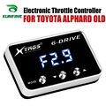 Автомобильный электронный контроллер дроссельной заслонки  гоночный ускоритель  мощный усилитель для TOYOTA ALPHARD  запчасти для старой настрой...