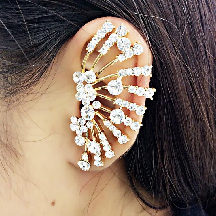 Trendy Gold Ear Tops Designs Fashion Ear Cuff Earrings