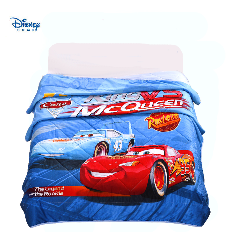 Disney coton couette été simple jumeau pleine reine taille couvre-lit 3d Mc reine éclairage voitures imprimer literie garçon adolescents couvre-lit