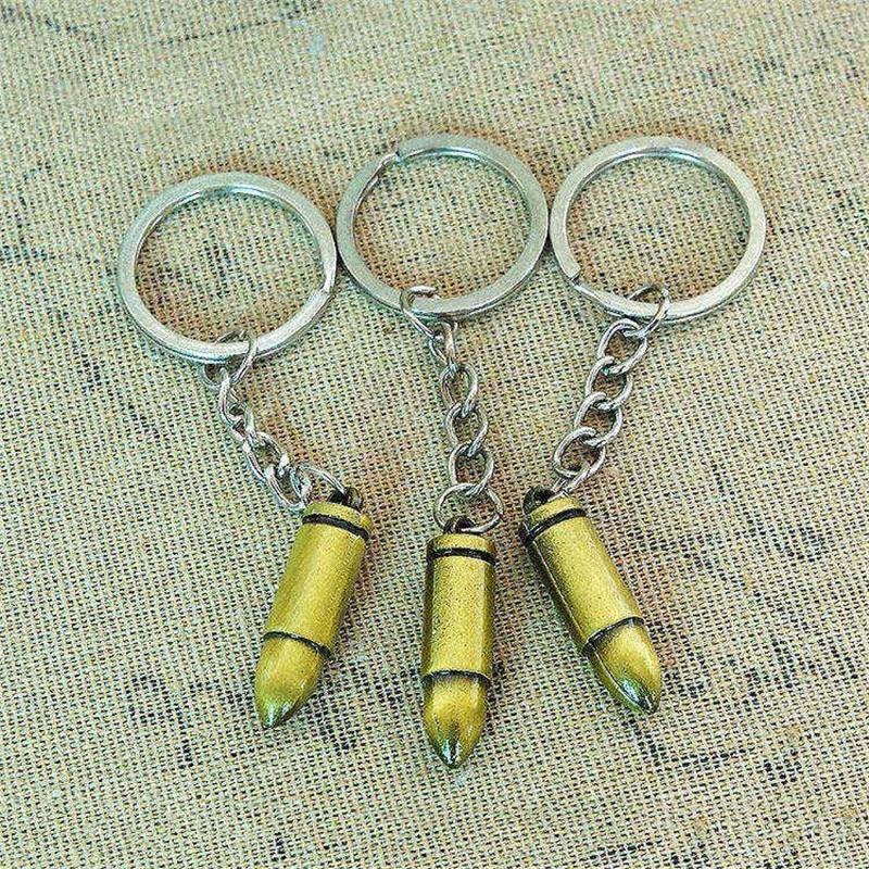 Keychains bullet gun model (24)