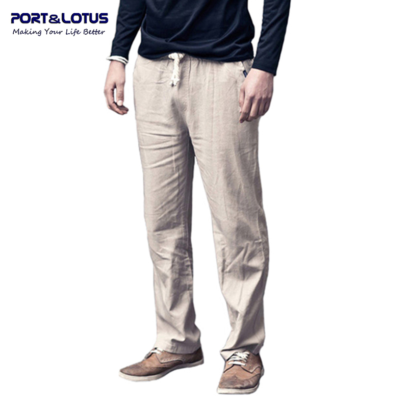 Online Buy Wholesale linen beach pants men from China linen beach ...