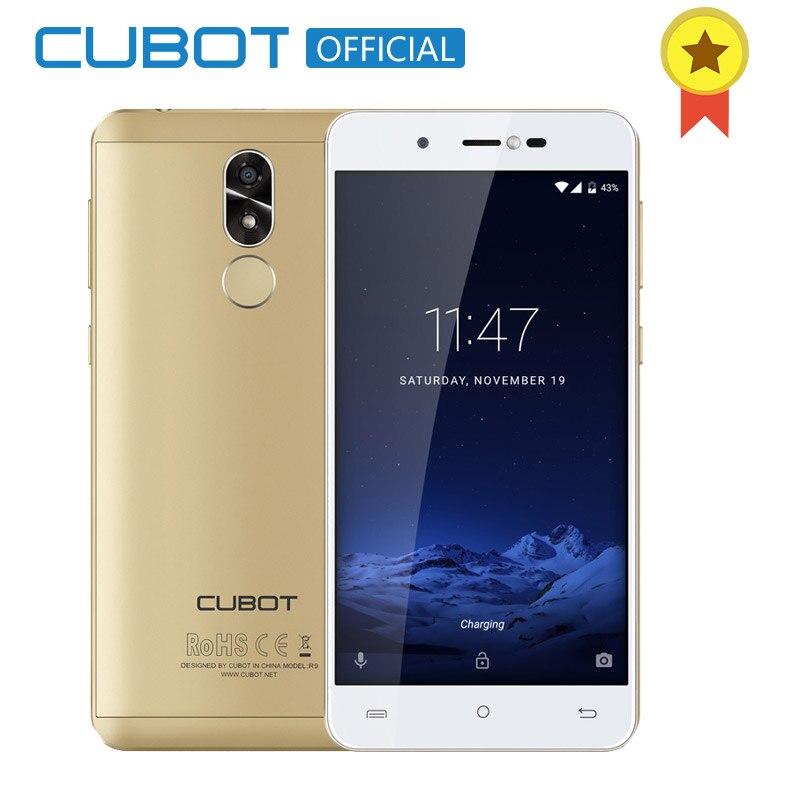 Cubot R9 Quad Core MT6580 font b Android b font 7 0 Fingerprint 2GB RAM 16GB