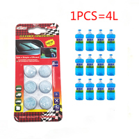 6pcs/pack Brand New Car Washer Solid Wiper Fine Seminoma Wiper Car   Auto   Window Cleaning Car Windshield Glass Cleaner