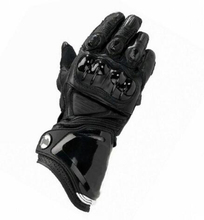 Summer and winter motorcycle gloves long locomotive riding racing off-road anti-fall leather luva moto motorcycle off road racing rider anti touch screen leather gloves
