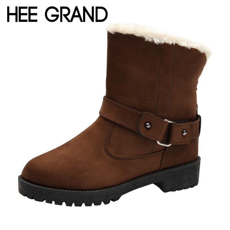 Bottes et boots Bottes de neige Femme Coton Chaussures Hiver Chaud Bottes Courtes Chaussures pour femmes Raquettes à neige (Couleur : Noir, taille : 36)