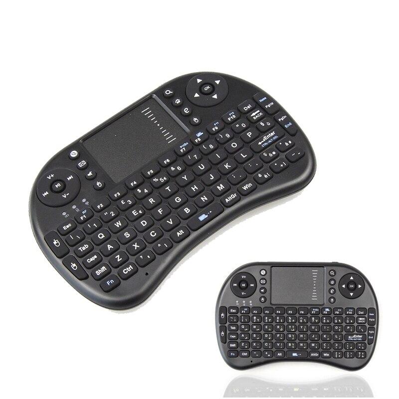 2.4GHz i8 Wireless Mini gaming keyboard English/Spanish keyboard i8 Rii Handheld For Android TV Box Laptop Tablet Pad TV Box PC