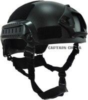 Mich 2001 Tactical Combat Helm ACH Tactische Helm met NVG Mount en Side Rail voor Airsoft Paintball Militaire Helm