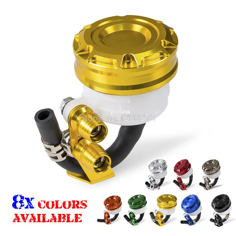 Front Brake Tank Master Cylinder Fluid Reservoir For Suzuki GSX-R/600/750/1000 Gold Motorcycles Frames Parts