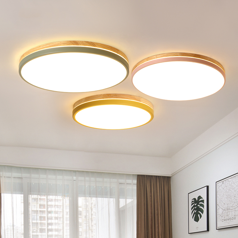 LED ceiling lights home fixtures nordic luminaire wooden Ceiling lamps Children's bedroom illumination modern ceiling lighting modern led living room floor lamp wooden luminaire bedroom standing lamps nordic illumination home deco lighting fixtures