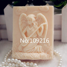 New Product!!1pcs Pipa Girl (zx265) Food Grade Silicone Handmade Soap Mold Crafts DIY Mould