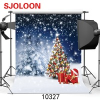 SJOLOON Wholesale Thin Vinyl Photography Backdrop Christmas Chair Carpet Custom Photo Prop Backgrounds 5ftX7ft