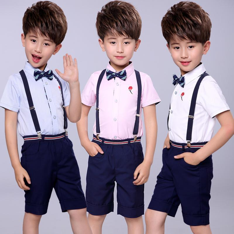 Newborn Toddler Kids Baby Boys Camera Tops Blouse+Grid Pants Outfits Clothes Set