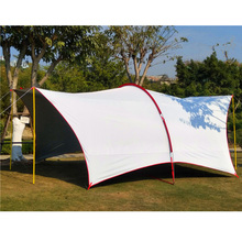 Full shading UV awning 6m*4.3m*2.4m Outdoor ultra-high Habe big rain sunshade awning multi-person tent with wear-resistant UV uv 4 5 6 person 6 4 3 2 4m habe fishing sunshade beach awning party pergola travel driving park trekking outdoor camping tent