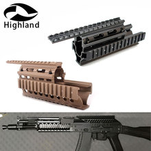 Тактический AK 47 AK74 AKS Drop in Quad Rail Scope Mount RIS Quad Handguard охотничья стрельба страйкбол винтовка аксессуар