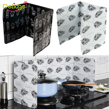 Aluminium Foil Plate Kitchen Gadgets Oil Splatter Screens Cover Gas Stove Splash Shield Guard Proof Baffle Home Cooking Tool