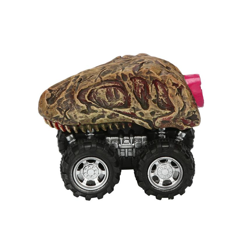 The appearance of the car New Dinosaur Model Mini Toy Car Back Of The Car Gift Pull Back Car For Kids 2sw0628