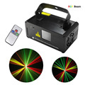DJ Beam Effect Laser light Remote DMX512 Red Green Yellow  Laser Stage Lighting Scanner Dance  Disco Party Show RGY Projector
