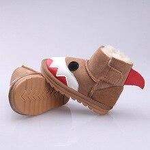 MPPM для мальчиков и девочек для малышей теплые зимние детская обувь 100% из натуральной овечьей шерсти зимние сапоги милые животные модные ботинки