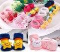 Bebé calcetín de la historieta 30 diseño animal recién nacido chicas calcetines antideslizantes oso conejo venta al por mayor 0-6 mes envío gratis