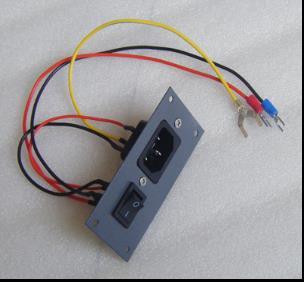 interruptor para saga plotter de corte cortador de plotter para interruptor de passo em preto