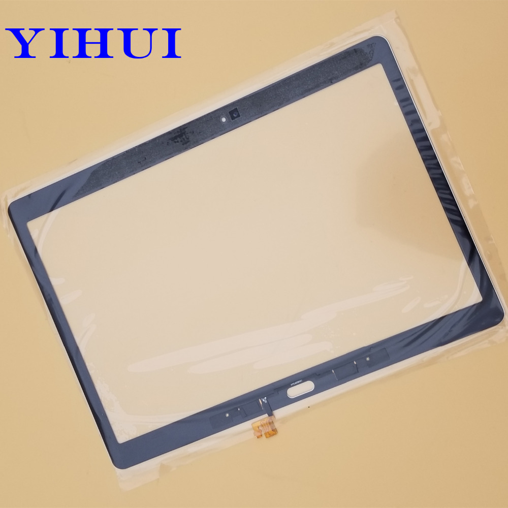 YIHUI 10.5 inch for Samsung Galaxy Tab S T800 T805 SM-T800 SM-T805 Front Digitizer Glass Panel Touch Screen White srjtek 10 5 for samsung galaxy tab s t800 t805 sm t800 sm t805 touch screen digitizer sensor glass tablet replacement parts