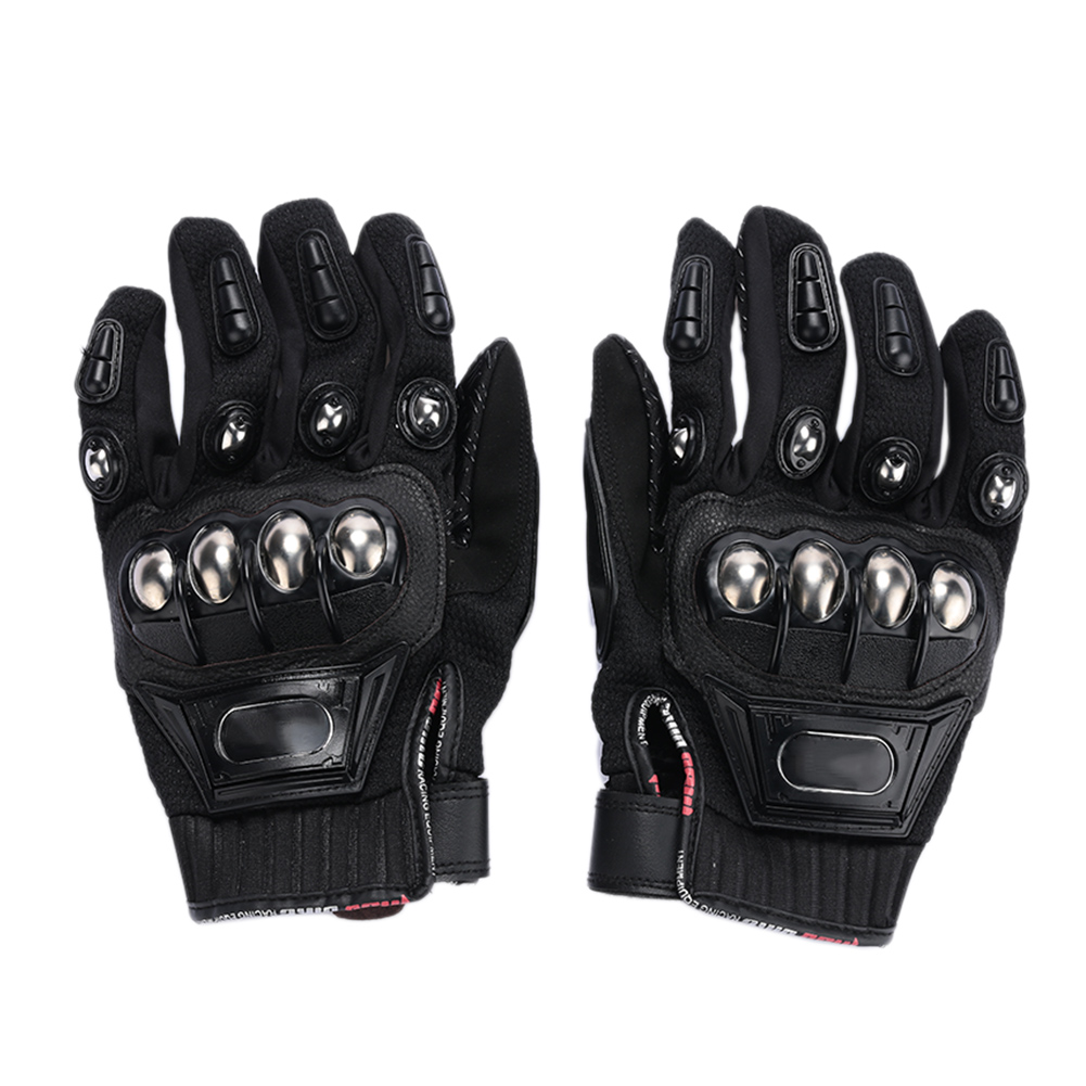 Cycling Gloves Full Finger Non-Slip Motorcycle Gloves Warm Mitten Durable Motorbike