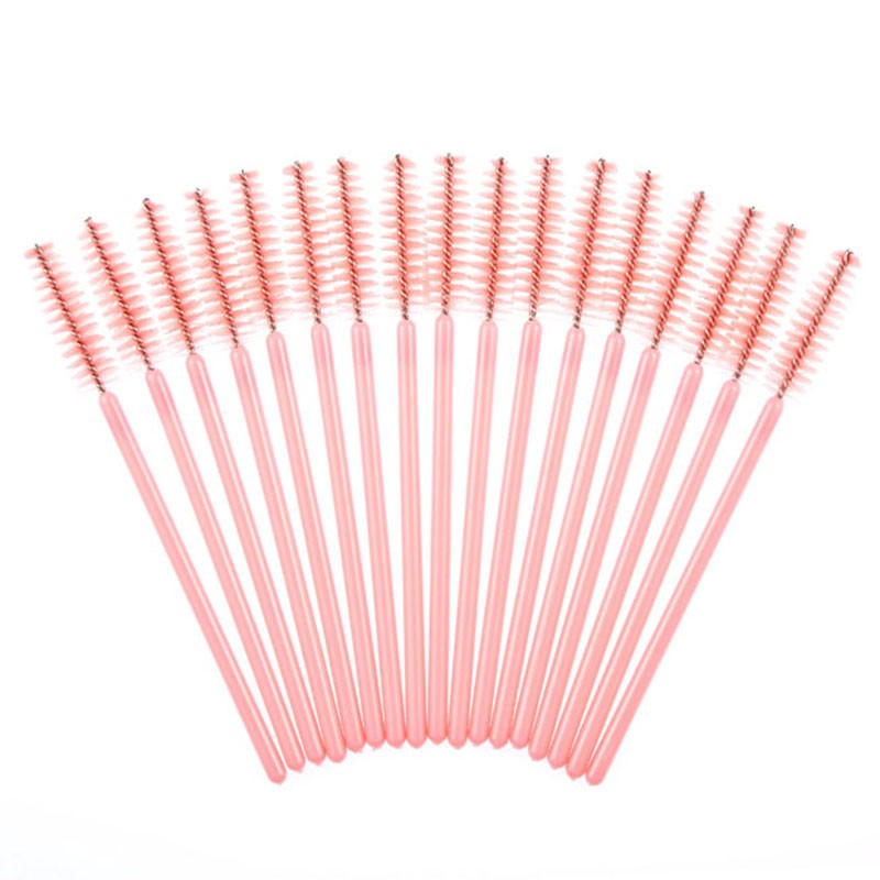 2019 50 pcs/100 pcs/pack Mascara Applicator Wand Brushes Eyelash Comb Disposable Brush