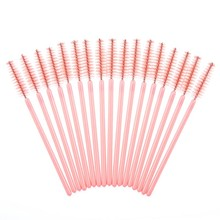 2019 50 pcs/100 pcs/pack Mascara Applicator Wand Brushes Eyelash Comb Disposable Brush