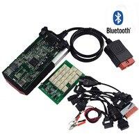 NEW VCI For DS150E TCS CDP PRO Plus Bluetooth 2015 R3 Keygen OBD Cars Trucks OBDII