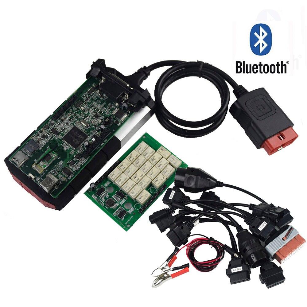 NOUVEAU VCI pour DELPHIS DS150E TCS CDP PRO Plus pour Bluetooth 2015. R3 keygen OBD voitures camions OBDII diagnostic outil