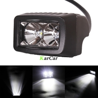 2pcs 1000LM 10W High Power CREE LED Offroad Work Light Worklight Off Road Bar Flood Beam