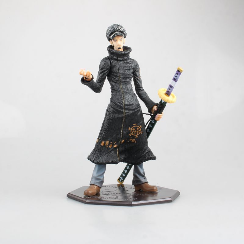 One Piece New World Trafalgar D Water Law Action Figure Law Doll PVC figure Toy Brinquedos Anime 23CM